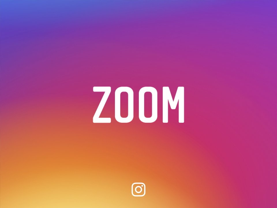 Instagram zoom